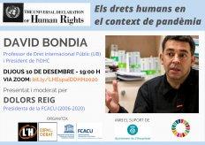 [Conferència] Els drets humans en el context de pandèmia