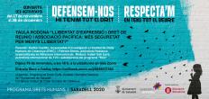 [Taula rodona] Llibertat d'expressió i dret de reunió i associació pacífica: Més seguretat per menys llibertat?