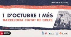 1 d'Octubre i Més. Barcelona ciutat de drets
