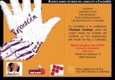 Acords sobre víctimes del conflicte a Colòmbia