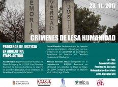 Procesos de justicia en Argentina: etapa actual