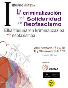 """Mesa redonda """"La criminalización de la solidaridad"""""""
