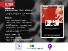 Exiliada: proyección de documental y conversatorio posterior