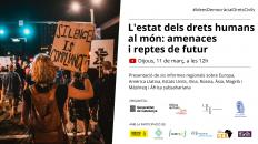 [Presentació] L'estat dels drets humans al món: amenaces i reptes de futur