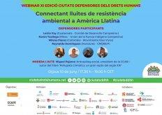 [Webinar] Conectando luchas de resistencia ambiental en América Latina
