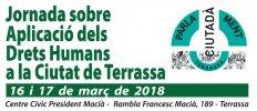 Jornada sobre Aplicación de los Derechos Humanos en la ciudad de Terrassa