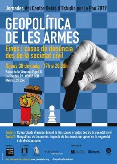 Jornadas GEOPOLÍTICA DE LAS ARMAS: herramientas y casos de denuncia desde la sociedad civil
