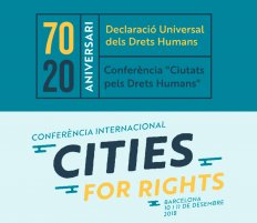 Conferència Internacional Cities For Rigths