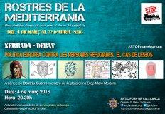 Exposición 'Rostres de la Mediterrània'