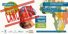 Conferencia de Aminata Traoré: Progresividad de los derechos humanos