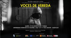 Voces de Vereda: Presentación del documental y debate posterior