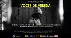 Voces de vereda: Presentación del documental y debate