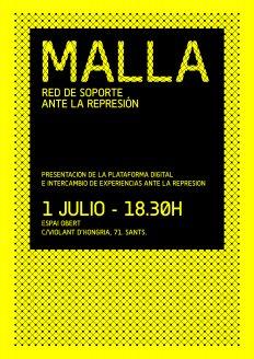 #NeixMALLA - Presentació de la xarxa de suport davant la repressió
