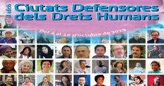 Ciutats Defensores dels Drets Humans - tardor 2019