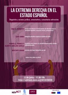 [Webinar] L'extrema dreta a l'estat espanyol: diagnòstic i accions jurídiques, comunicatives i comunitàries antiracistes