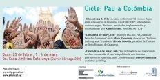 Ciclo sobre los acuerdos de paz en Colombia