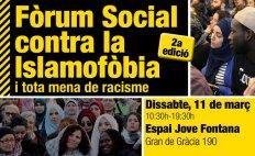 #StopIslamofòbia: Fòrum Social contra la Islamofòbia i tota mena de racisme 2017