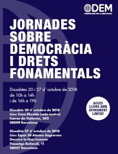 Jornadas sobre democracia y derechos fundamentales