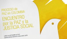 Proceso de paz en Colombia. Encuentro por la Paz y la Justicia Social