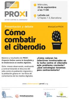 Presentación y debate: Cómo combatir el ciberodio
