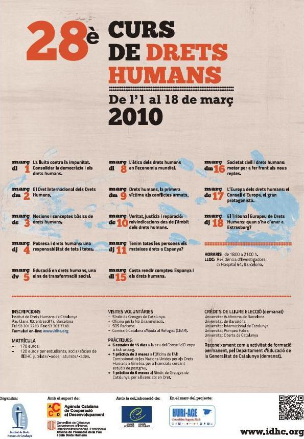 28è Curs Anual de Drets Humans
