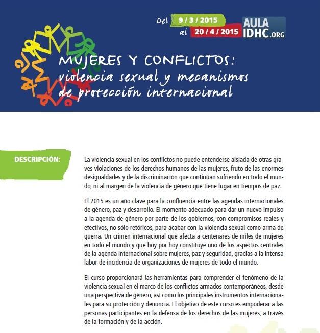 Dones i conflictes: violència sexual i mecanismes de protecció internacional (2a edició)