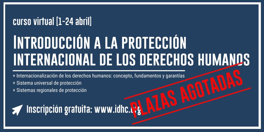 Introducció a la protecció internacional dels drets humans
