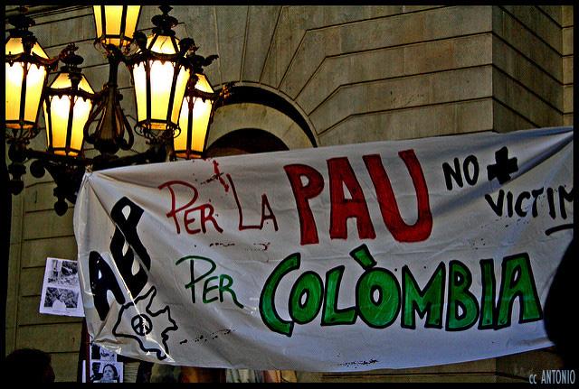 Comunicat públic d'institucions i societat civil de Catalunya de suport al procés de pau a Colòmbia