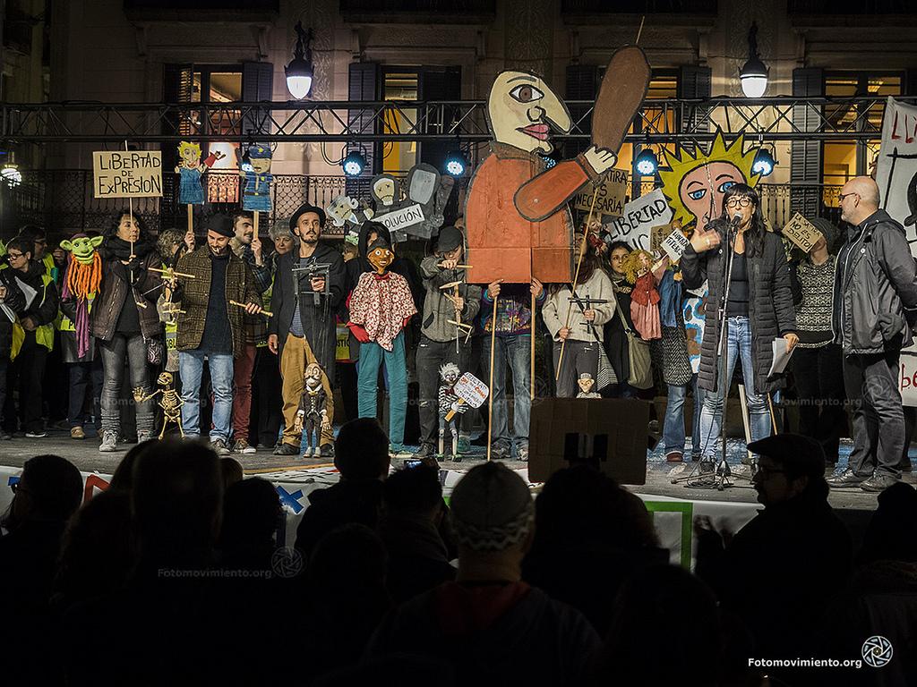 Comunicat: L'art no es emmordassa. Exigim la llibertat d'Alfonso i Raúl