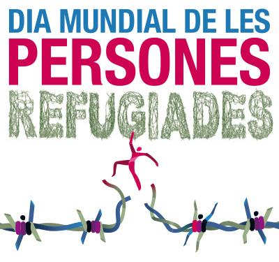 Manifest amb motiu del Dia Mundial de les Persones Refugiades 2015