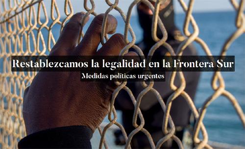 Cap al restabliment de la legalitat a la Frontera Sud (Ceuta i Melilla)