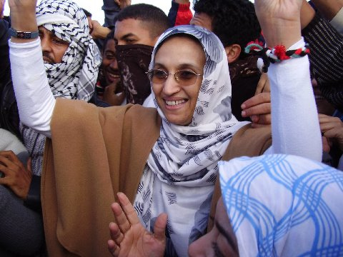 Solidaritat amb Aminatou Haidar