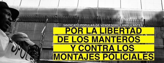 Manifiesto por la libertad de los manteros || No callar ante la injusticia: #LibertadManteros