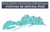 Serveis d'entitats i administracions de Barcelona per a víctimes de delictes d'odi