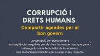CORRUPCIÓN Y DERECHOS HUMANOS. Compartir agendes para el buen gobierno