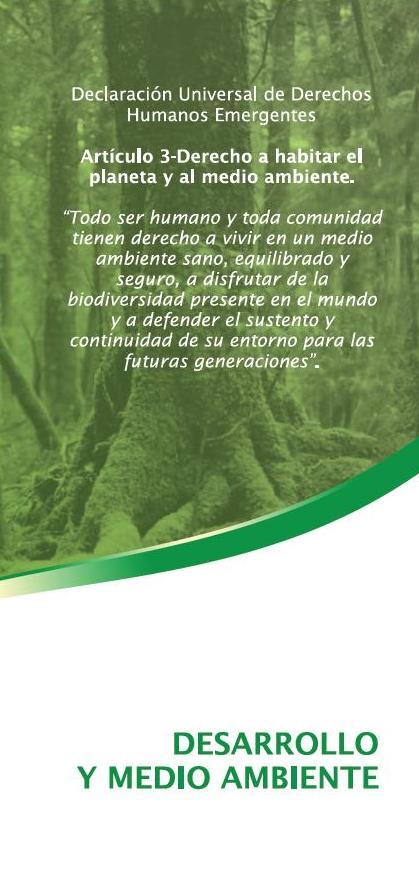 Desenvolupament i Medi Ambient
