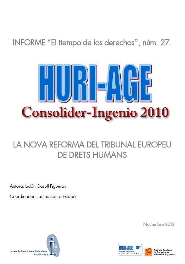 La nueva reforma del Tribunal Europeo de Derechos Humanos