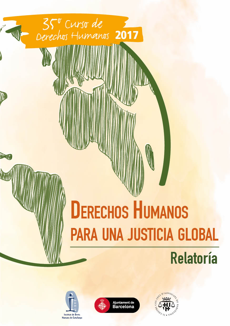 Relatoria del 35è Curs Anual de Drets Humans per a una Justícia Global
