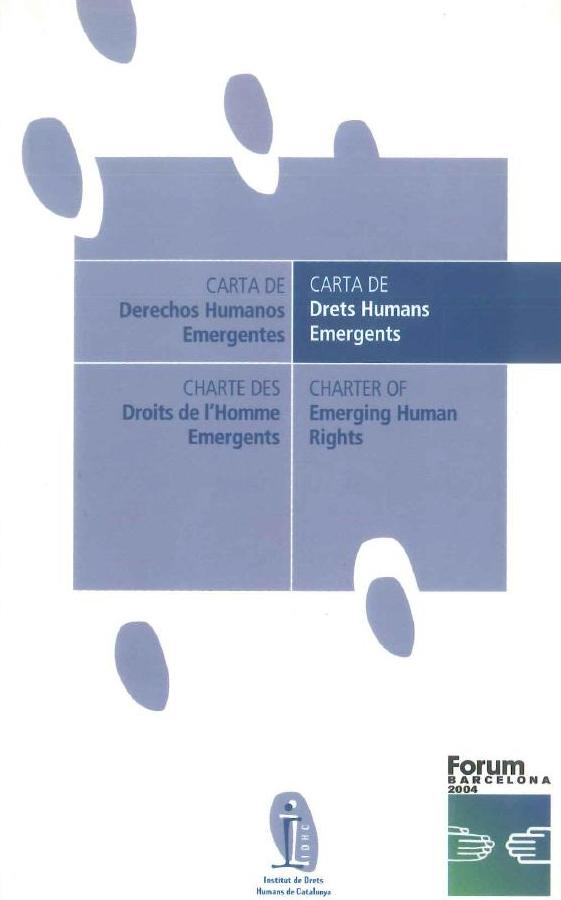 Carta de Drets Humans Emergents