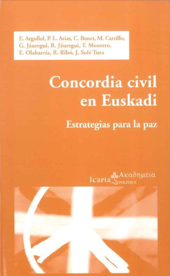 Concòrdia civil en Euskadi